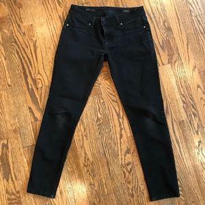 DL 1961 Black Mid-rise Jean